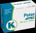 POTAS 300MG APTEO 100 TABLETEK