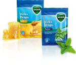 Vicks Drops Miód cukierki do ssania 72 g