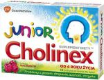 CHOLINEX JUNIOR past.d/ss. * 16 s.malina