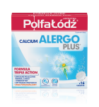 Calcium Alergo Plus Laboratoria Polfa Łódź 16 tabletek musuj.