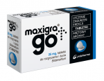 Maxigra Go 25mg 4 tabl. do rozg.i żucia