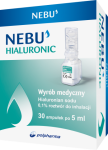 Nebu Hialuronic 0,1% roztwór do inh. 30 amp. a 5 ml